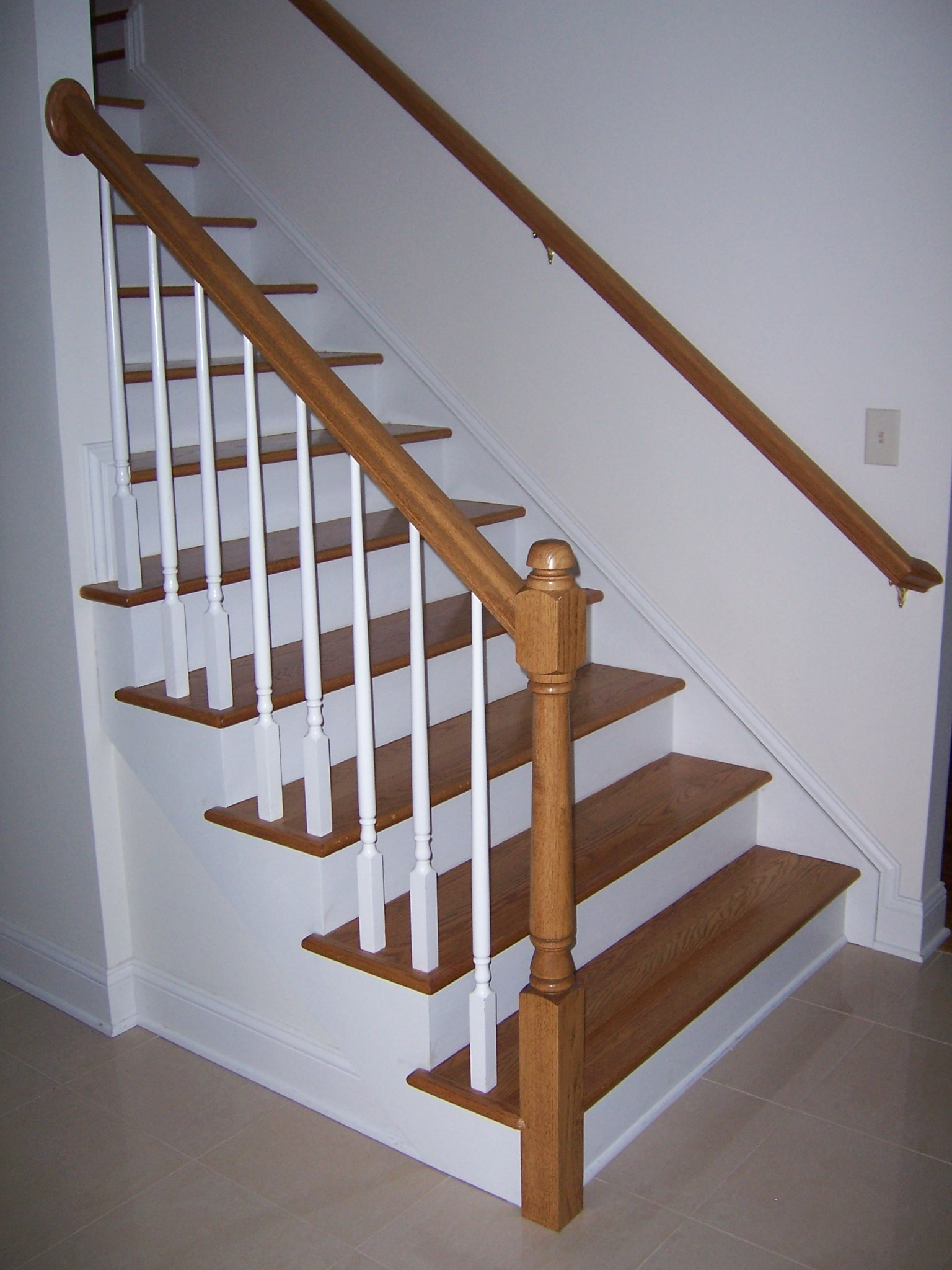 Bennett stair company inc services for Pre built stairs