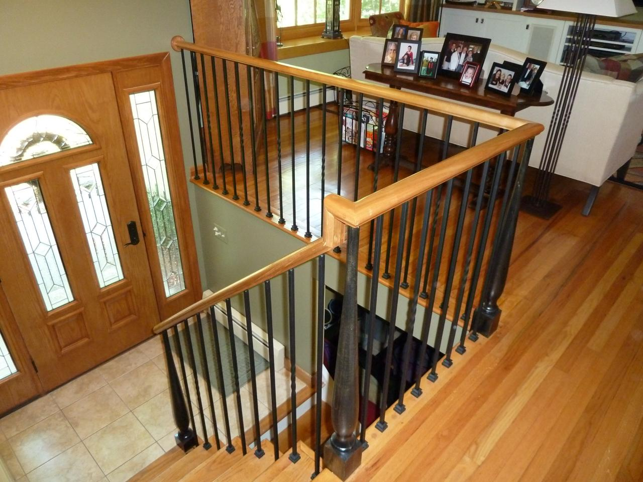 Relatively Bennett Stair Company Inc Wood Iron Rails Xd57
